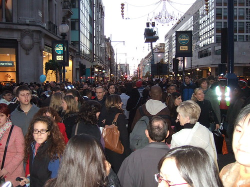 Very Important Pedestrian (VIP) day - a traffic-free day on Oxford Street and Regent Street