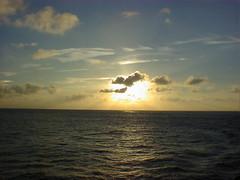 38.台灣海峽的日落