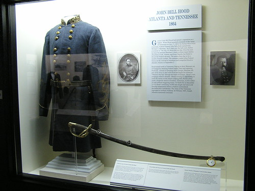 Uniform coat of C.S.A. General John Bell Hood, The Museum of the Confederacy, Richmond, VA by you.