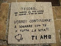 "Acquaviva Picena , ""I love you"" &quo..."