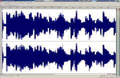 Editing an audio file