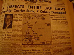Headline, Oct. 26, 1944