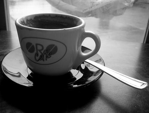 rainy day coffee break