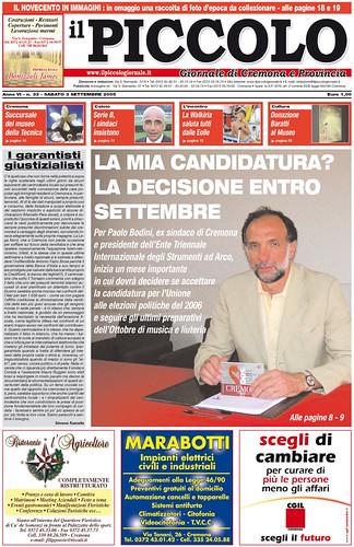 Bodini candidato alle politiche?