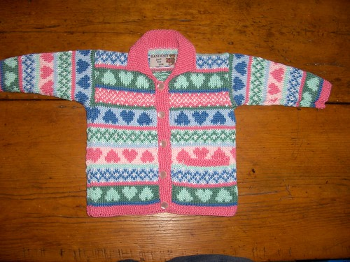 Fair Isle Cardigan For Baby