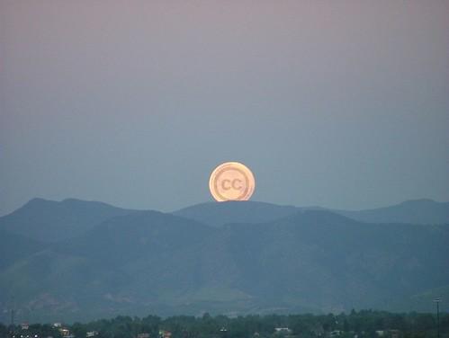 Creative Commons Moon