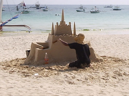 The Sandcastle Man