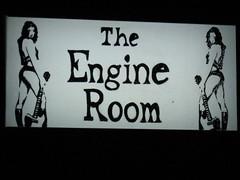 engine room sign