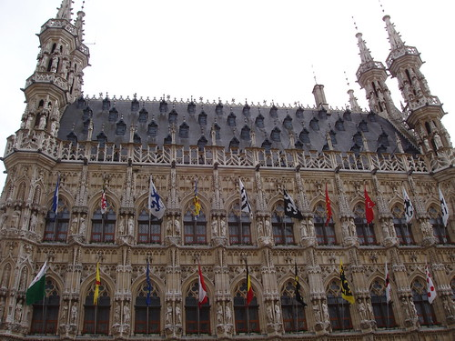 Old town hall, Leuven