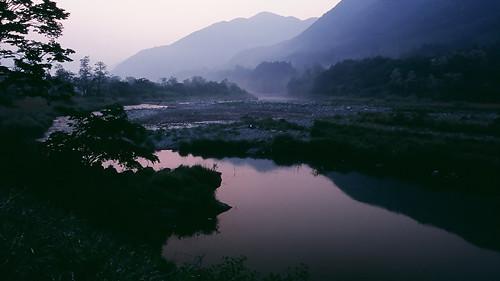 Sunrise over Ashio.