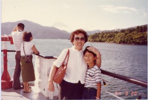 日本某處湖上