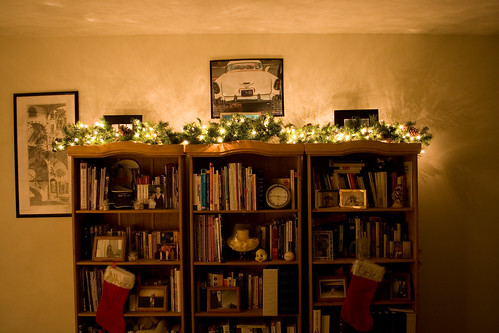 Image result for christmas bookshelf