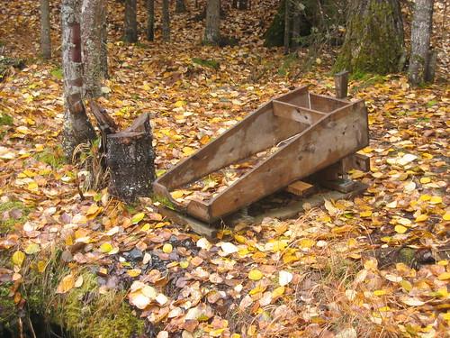 Sluice box, by Tara, http://flickr.com/people/wheatland/