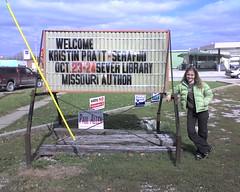 Kristin's Author Visit to Kahoka, Missouri