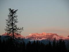 Moon Set on Autumn Moon Festival, Banff