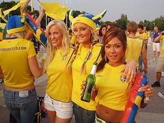 Swedish football fans