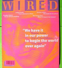 A sample issue of Wired UK
