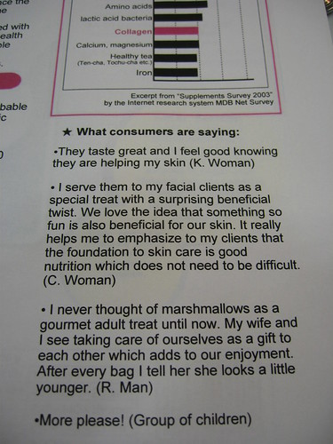 what consumers are saying about collagen marshmallows