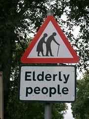 scotland, elderly people crossing (by wildvogel)