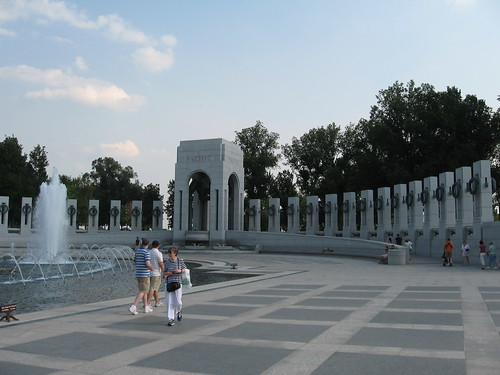 South section of WWII Memorial