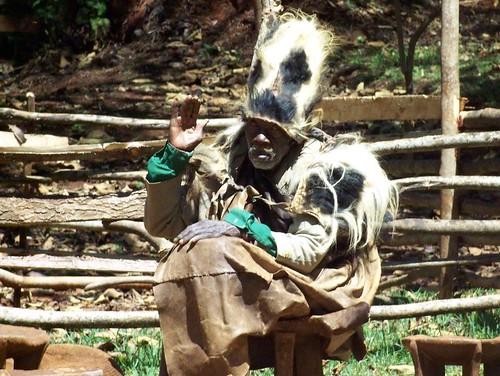 Kikuyu Medicine Man