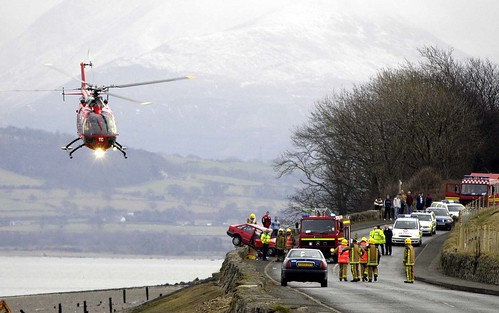 AIR AMBULANCE & NORTH WALES FIRE & RESCUE SERVICE (UK)