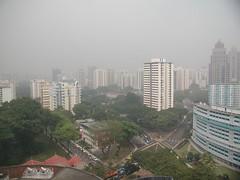 singapore non-view w/ smog