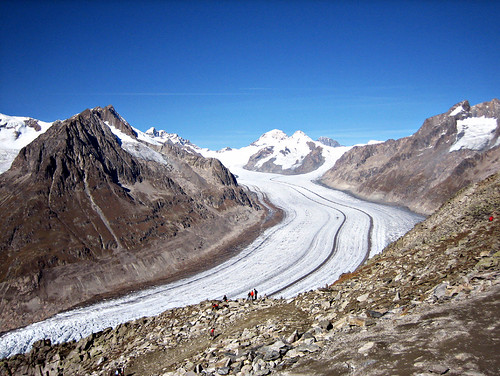 Aletsch Glacier, by MrUllmi on Flickr