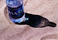 Dasani water bottle