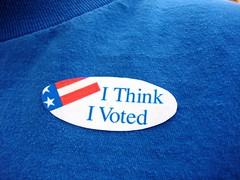 I Voted  (I think)