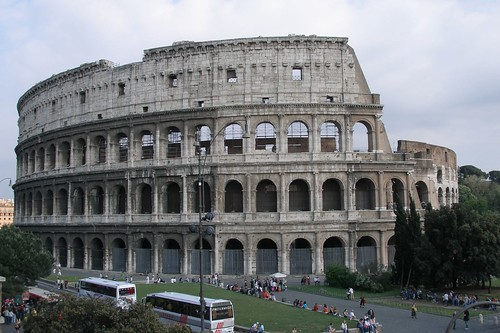 Colosseum (Coliseum) of Imperial Rome (2006-05-149)