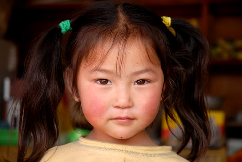 little Chinese girl