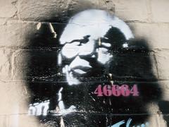 pantone801 - Nelson Mandela Stencil Graffiti (Flickr)