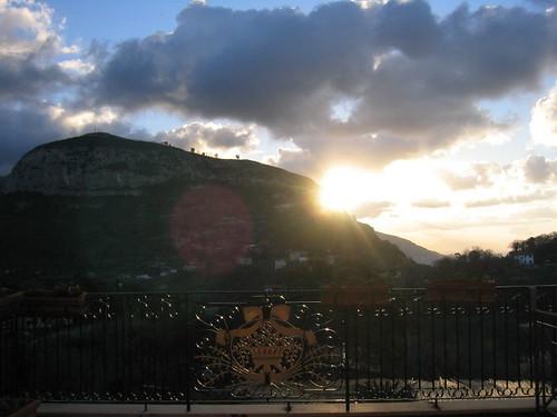 Sunset at Sorrento