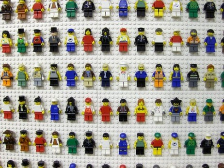 Lego People by Joe Shlabotnik