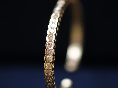 diamond bracelet  by paparutzi, on Flickr