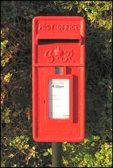 George VI Postbox, Stragglethorpe, Lincolnshire