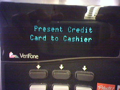IGNORE THIS - Present Credit Card to Cashier
