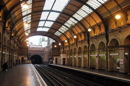 UK - London: Notting Hill Gate Station by wallyg
