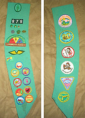 of COURSE i was a girl scout.