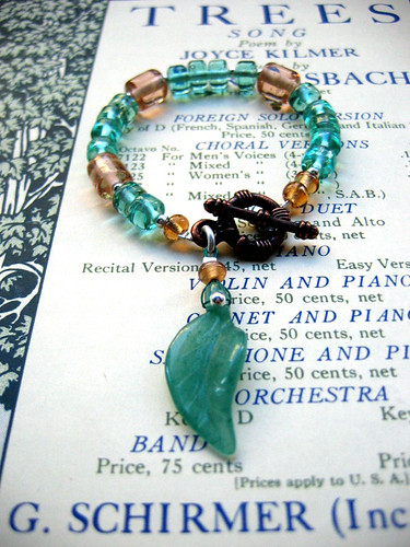 Trees bracelet