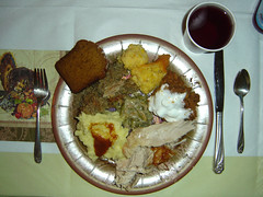 Thanksgiving Meal 2006