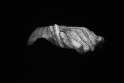 Hands from a centenarian