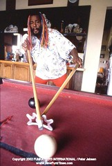 Home Story at George Clinton's 'Funky Farm' in Michigan (1986)