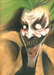 the joker (based on a Dave McKean work)