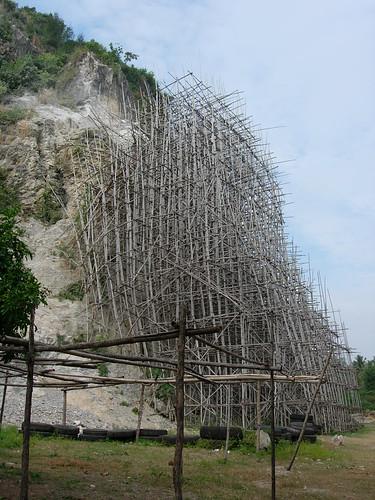 Bamboo Scaffolding, Cambodia