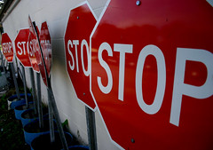 Stop Signs, High Springs