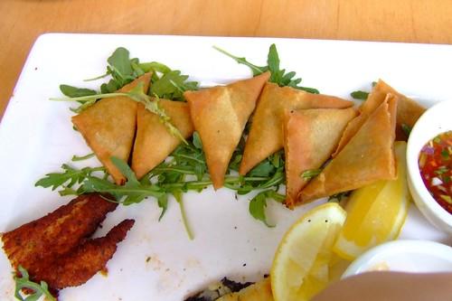 Mixed platter @ Five Islands Brewery, Wollongong