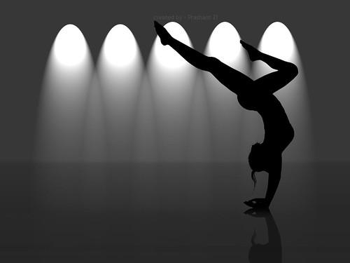 Yoga Girl by Prashant Zi