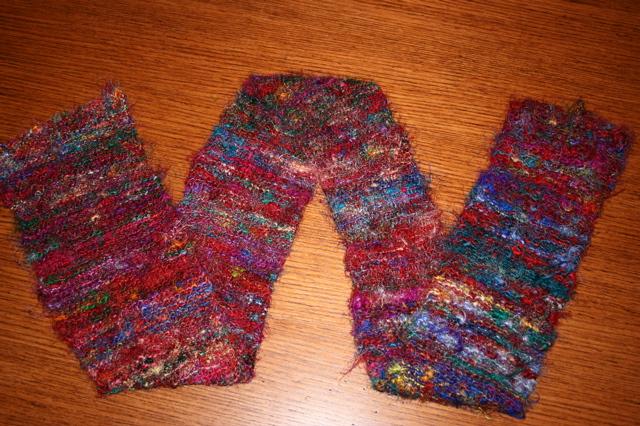 silk sari scarf